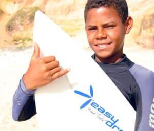 Félix Martins da EasyDrop Surf Camp