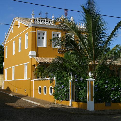 Casarão Amarelo em Itacaré, Bahia