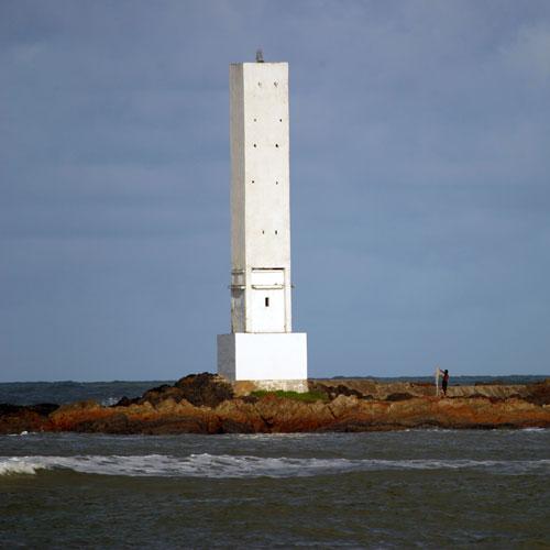 Farol da praia da Concha em Itacaré, Bahia