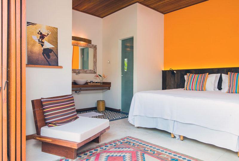 Suíte standard do Hotel Vila Barracuda em Itacaré